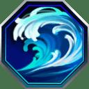 波動海流の画像