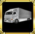 トラック【白】の画像