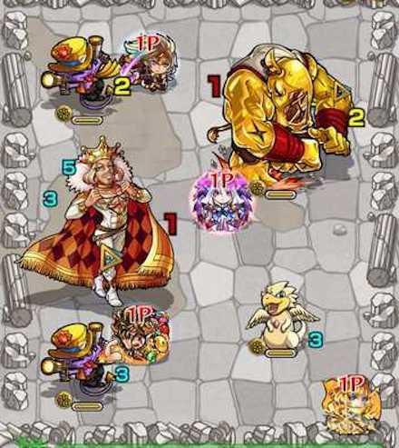 ダイヤのキング ステージ3