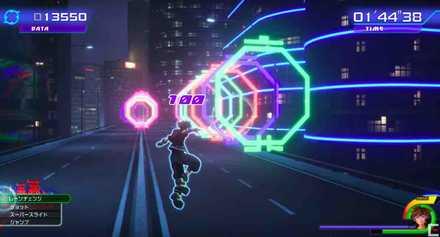 キングダムハーツ3のベイマックスワールドのミニゲームの画像