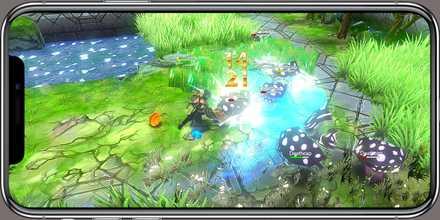 クレサマルス物語 ゲーム画面