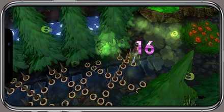 クレサマルス物語 ゲーム画面2