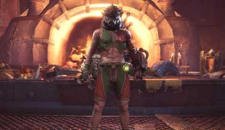 Mosswine Mask Layered Armor