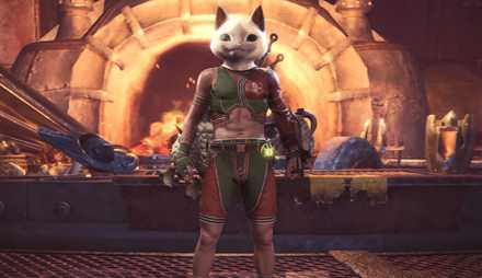 Faux Felyne Layered Armor