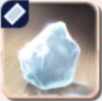 溶けない氷の画像