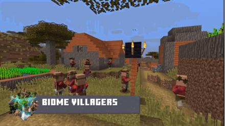 マイクラの村人の新スキン