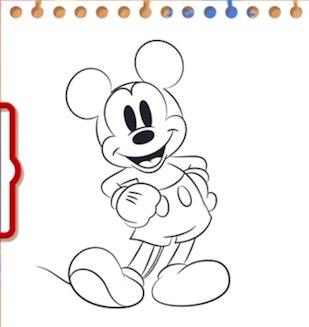 ミッキーの画像