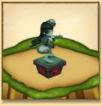 トモエの像