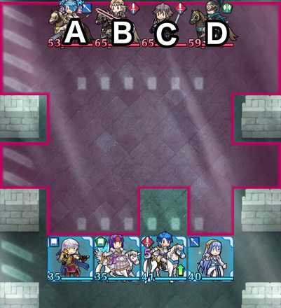 縛鎖の第15迷宮:第2ステージのマップ画像