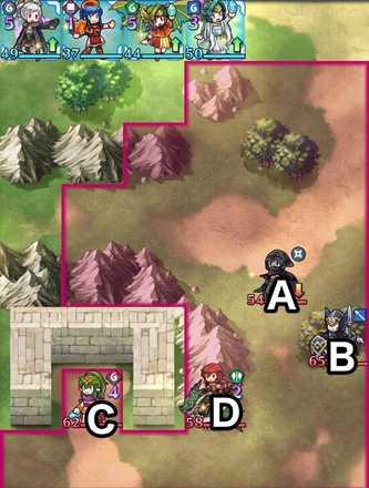 縛鎖の第15迷宮:第5ステージのマップ画像