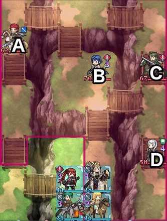 縛鎖の第15迷宮:第4ステージのマップ画像