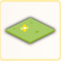 緑地フローリングの画像