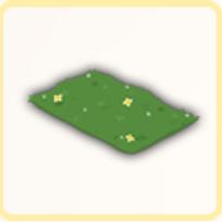 芝生カーペットの画像