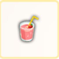 いちごジュースの画像