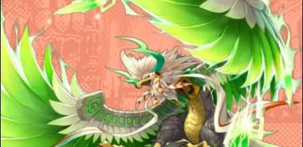 ドラガリの風属性ドラゴン