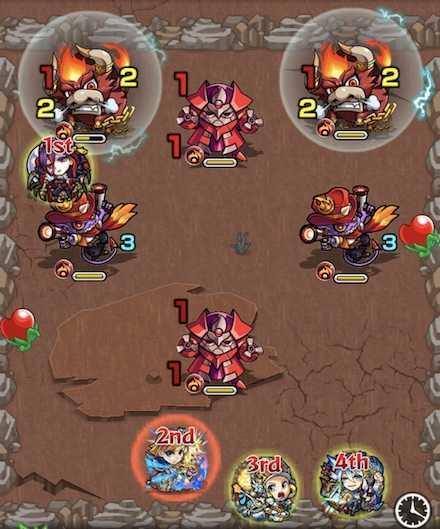 火の獣神竜を求めてステ1召喚後.jpg