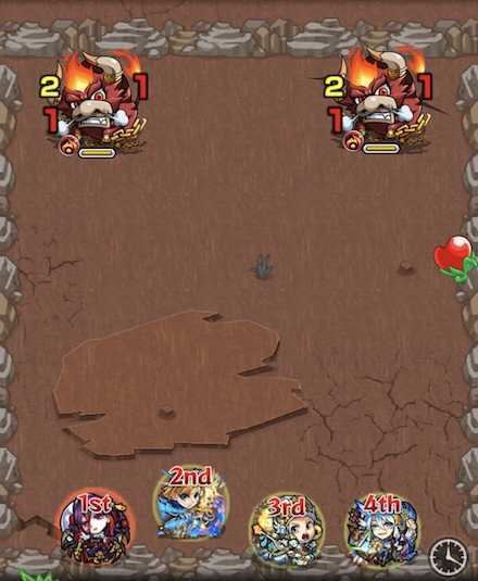 火の獣神竜を求めてステージ1攻略.jpg