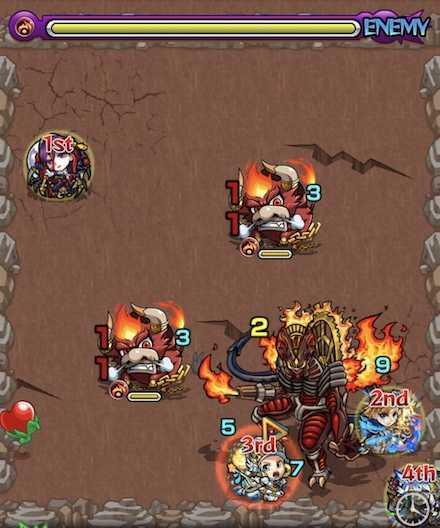 火の獣神竜を求めてステージ2攻略.jpg