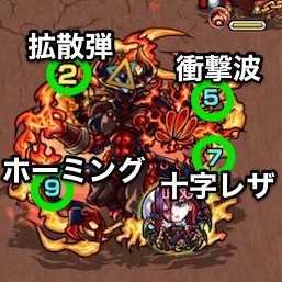 火の獣神竜を求めてボス攻撃パターン