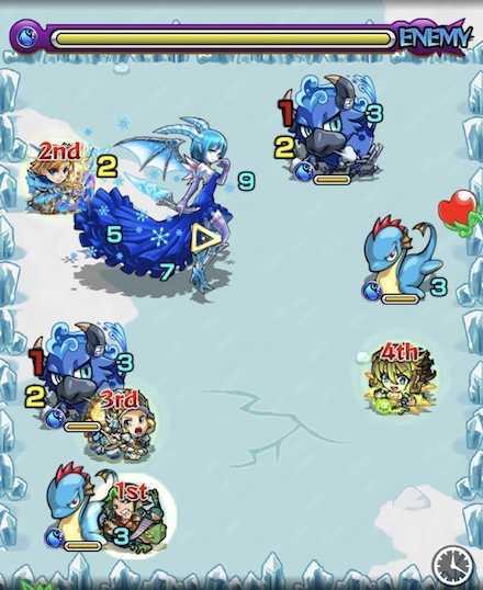 水の獣神竜を求めてステージ2攻略.jpg