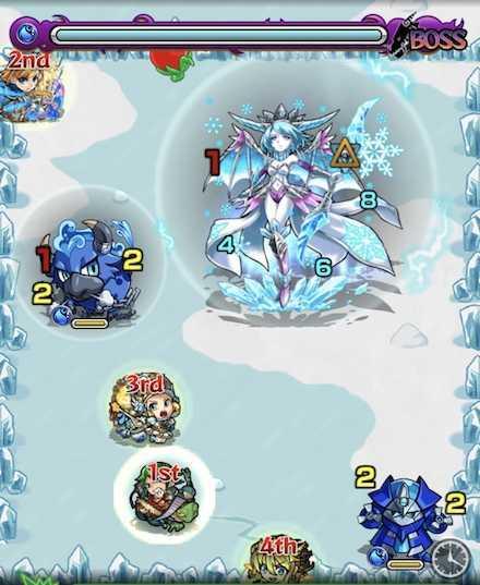 水の獣神竜を求めてボスステージ1攻略召喚後.jpg