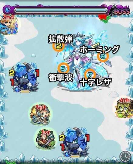 水の獣神竜を求めてボスステージ1攻略.jpg