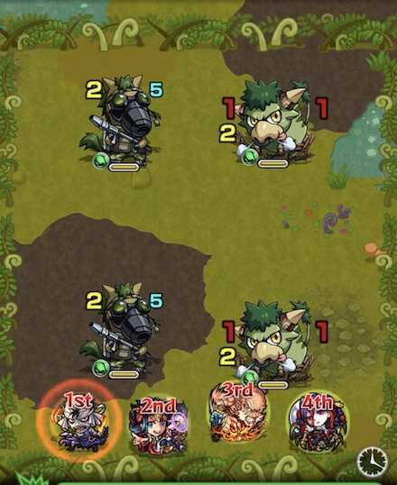 木の獣神竜を求めてステージ1攻略  .jpg