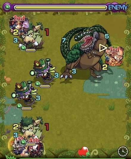 水の獣神竜を求めてステージ2攻略  .jpg
