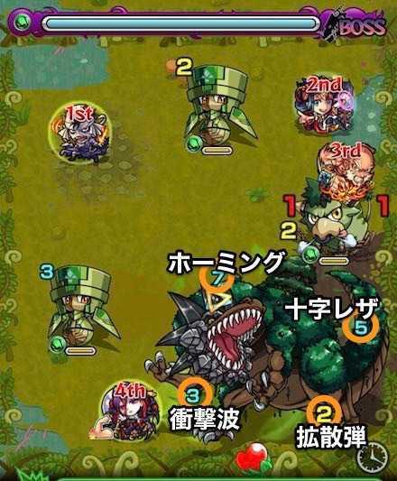 木の獣神竜を求めてボスステージ1攻略.jpg