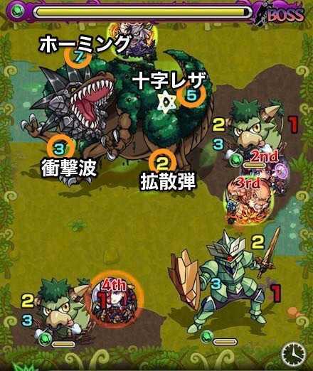木の獣神竜を求めてボスステージ3攻略.jpg