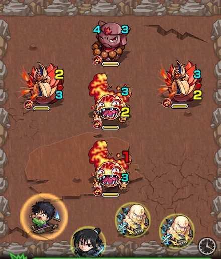 ベイドン山の怪物のステージ1攻略.jpg