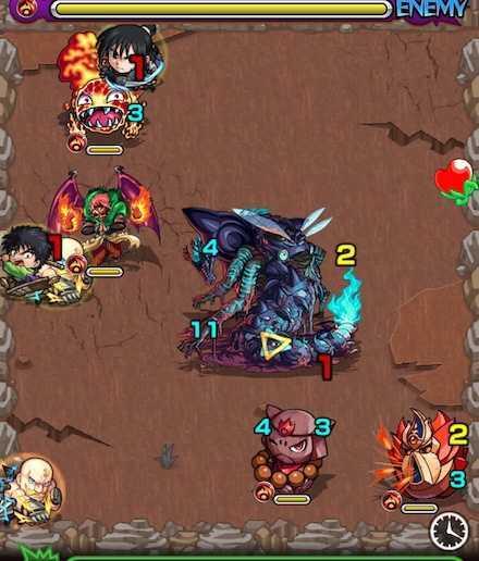 ベイドン山の怪物のステージ3攻略 .jpg
