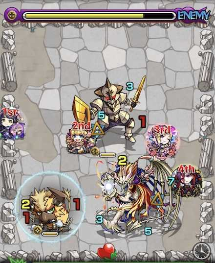 光の獣神竜を求めてステージ2召喚後.jpg