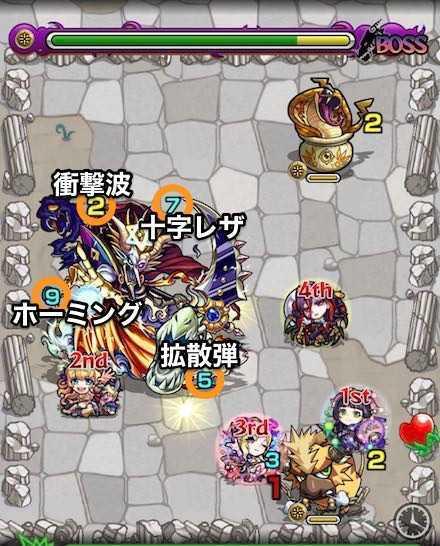 光の獣神竜を求めてボスステージ2攻略.jpg