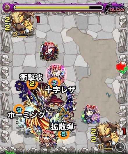 光の獣神竜を求めてボスステージ3攻略.jpg
