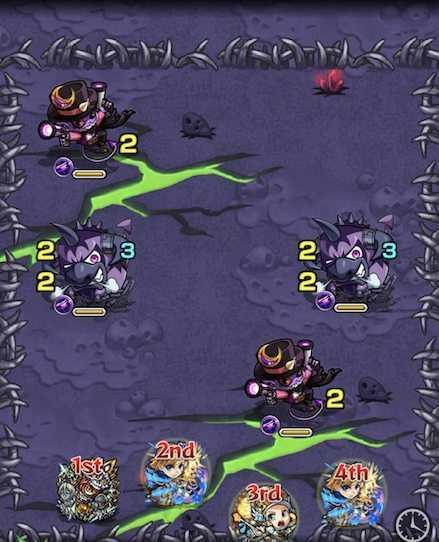 闇の獣神竜を求めてのステージ1攻略 .jpg