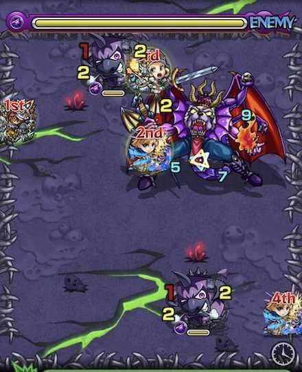 闇の獣神竜を求めてのステージ2攻略 .jpg