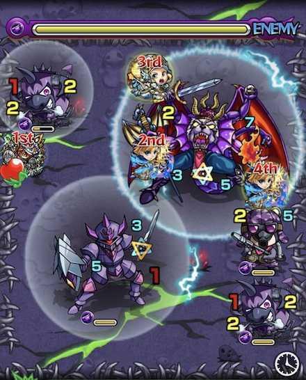闇の獣神竜を求めてのステージ2召喚ご .jpg