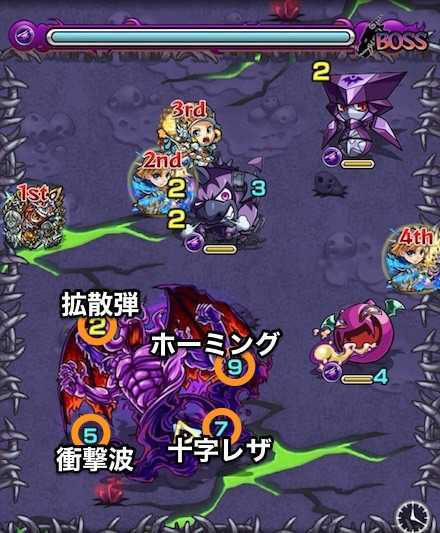 闇の獣神竜を求めてのボスステージ1攻略.jpg