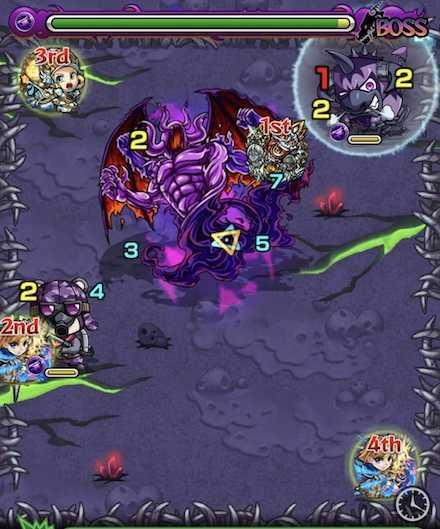 闇の獣神竜を求めてのボスステージ2召喚ご.jpg