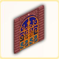 屋敷のゲートの画像