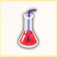 赤い試薬の画像