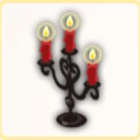 宴会の燭台の画像