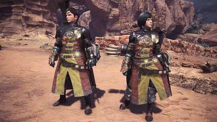 Guild Cross Layered Armor