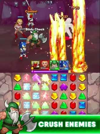 セガヒーローズ ゲーム画面3