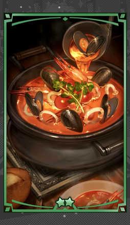 シーフードスープの画像
