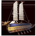 亀甲船の画像