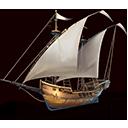 軽ダウ船の画像