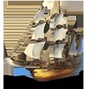 ガレオン帆船の画像