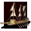 重ガレアス船の画像